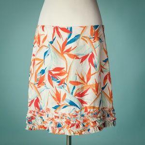Tommy Bahama 10 Linen Tropical Hawaiian Skirt